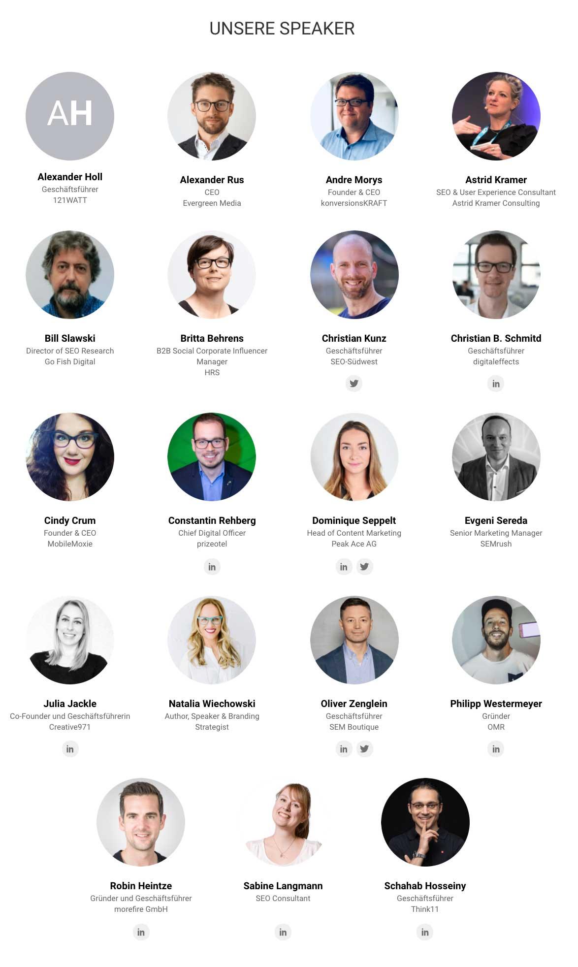SEMrush All in one Online Marketing Konferenz