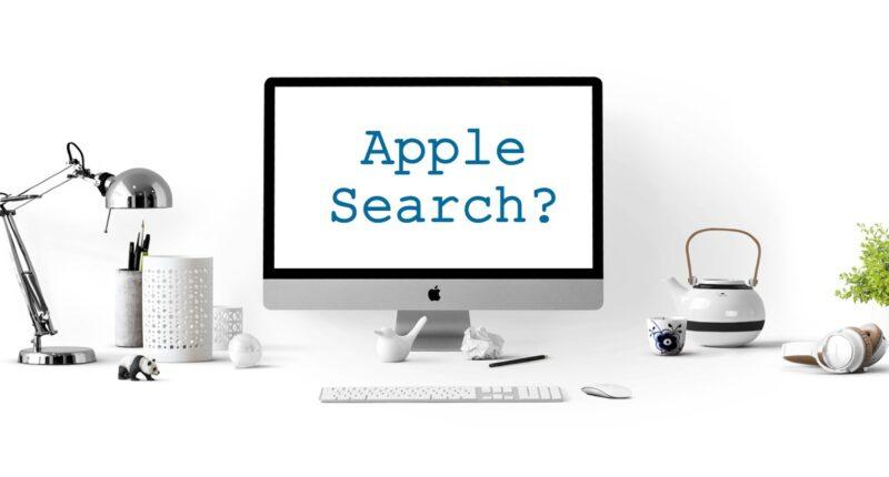 bringt apple eigene suchmaschine raus?